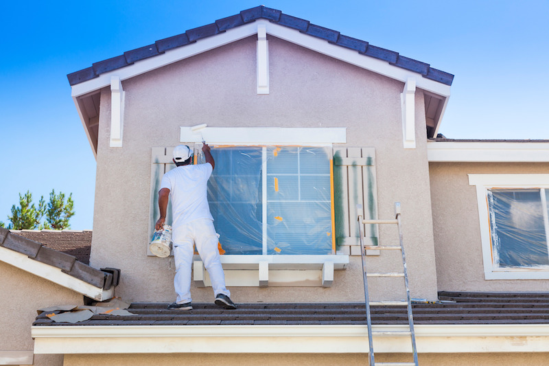 exterior house painting contractor katy texas